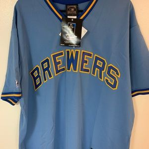 Men's Milwaukee Brewers jersey
